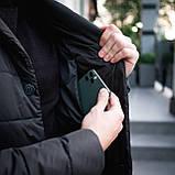 Мужская куртка-пиджак Dollar Bill (черная), фото 8
