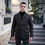 Чоловіча куртка-піджак Dollar Bill (чорна), фото 9