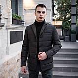 Чоловіча куртка-піджак Dollar Bill (чорна), фото 10