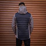 Мужская куртка Harvest (синяя с серой вставкой)S M L XL, фото 2