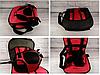 Автокресло мягкое детское безкаркасное Multi-function Car Cushion NY-26 от 9 мес до 4 лет КРАСНЫЙ, фото 6