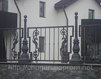 Элементы оград из чугуна