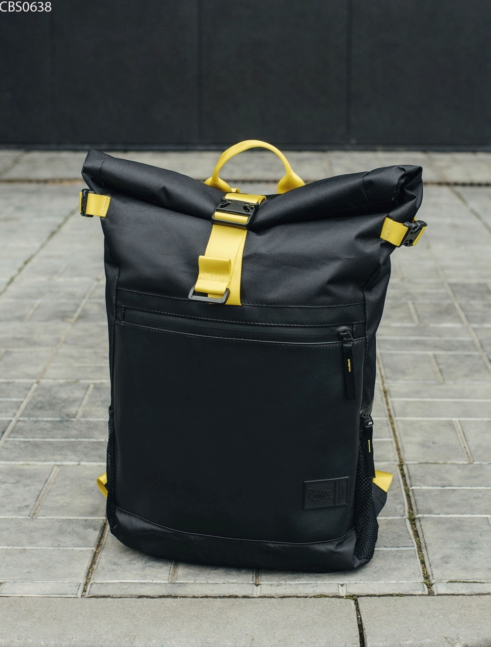 Рюкзак Staff roll black & yellow