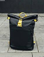 Рюкзак Staff roll black & yellow, фото 1