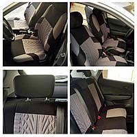 Чехлы на автомобильные сиденья полный набор, 2 передних и 1 задний авточехлы (3 шт./уп.) накидки на автокресла