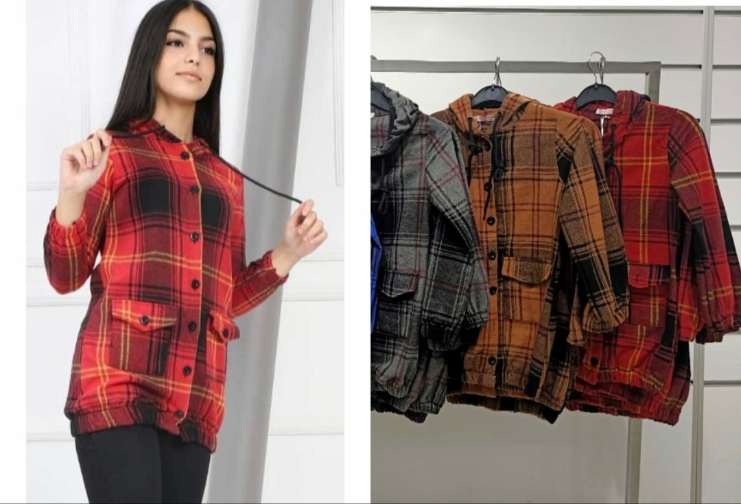 Рубашки для девочек 140-176 рост (байка)
