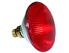 Инфракрасная лампа для обогрева кварцевая 100 Вт Е27
