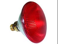 Инфракрасная лампа для обогрева кварцевая 175 Вт Е27
