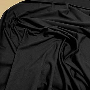 Футер двунитка черная, Турция, 180см