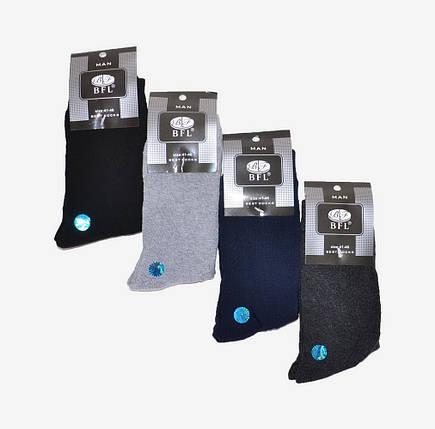 Однотонные Махровые носки мужские (арт. A297), фото 2