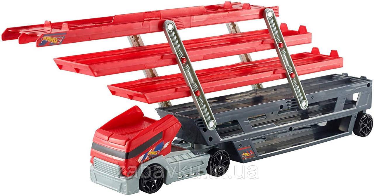 Автовоз Хот Вилс на 50 машинок Hot Wheels Mega Hauler Truck хот вілс трейлер
