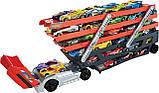 Автовоз Хот Вилс на 50 машинок Hot Wheels Mega Hauler Truck хот вілс трейлер, фото 4
