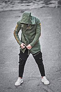 Чоловіча утеплена на флісі мантія Gangster, Хакі