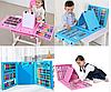 Детский набор для творчества и рисования 208 предметов (blue) с мольбертом Набор для творчества в кейсе., фото 4