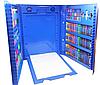 Детский набор для творчества и рисования 208 предметов (blue) с мольбертом Набор для творчества в кейсе., фото 5