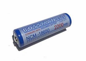 Акумулятор высокотоковый Bossman-Profi DiGi 18650 Li-ion 3,7 V 2200mAh 11A (NCM18650-5C-2200H)