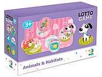 Лото детское,лото dodo 300196,дитяче лото,6 карточек,24 фишки, фото 1