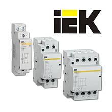 Контакторы модульные км (iek)