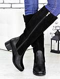 Сапоги кожаные Даяна 7167-28, фото 4