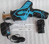 Сабельная пила аккумуляторная Grand ПС-12Li (2 аккумулятора), фото 3