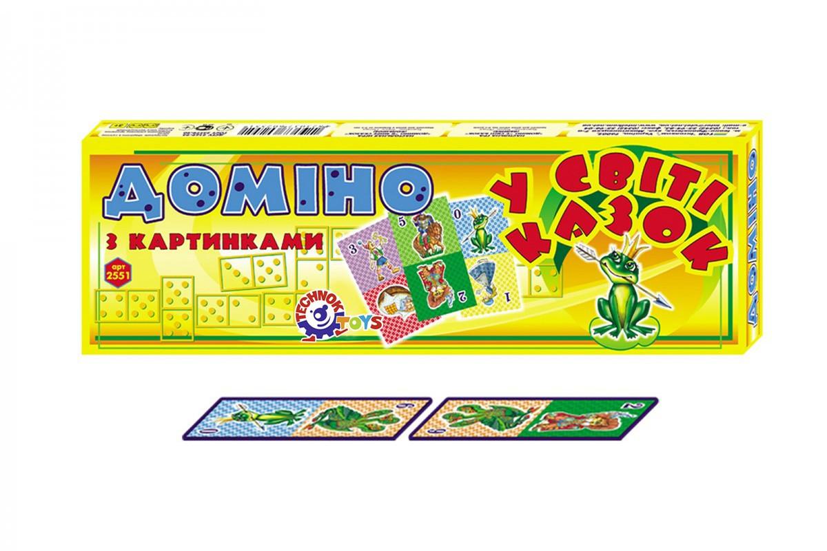 """Домино """"В мире сказок ТехноК"""" 2551"""