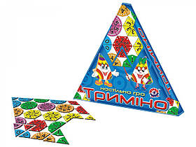 """Настольная игра """"Тримино"""" 2827"""
