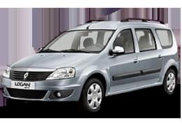Коврик в багажник для Renault (Рено) Logan MCV 1 2006-2012