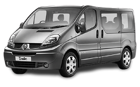 Коврик в багажник для Renault (Рено) Trafic 2 2001-2014