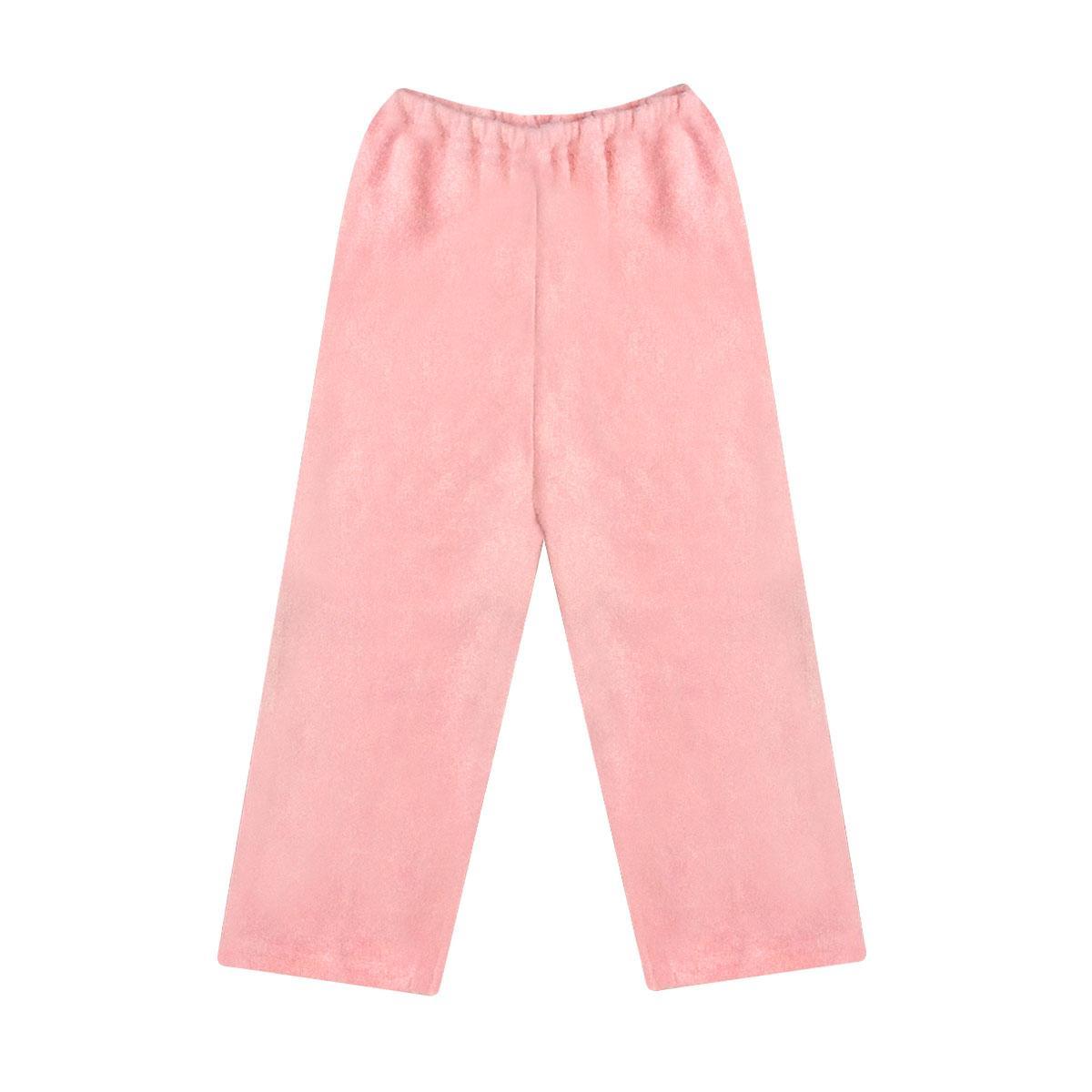 Тёплые детские штаны для девочки махра