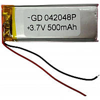 Polymer battery 20*48*4 (500mAh)