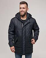 Чоловіча зимова куртка ZD-02 чорна, фото 1