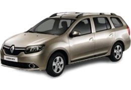 Коврик в багажник для Renault (Рено) Logan MCV 2 2013-2016+