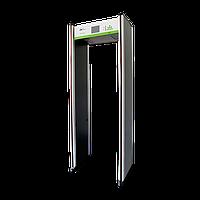 Арочний металодетектор з функцією вимірювання температури ZKTeco ZK-D3180S(TD) на 18 зон детекції