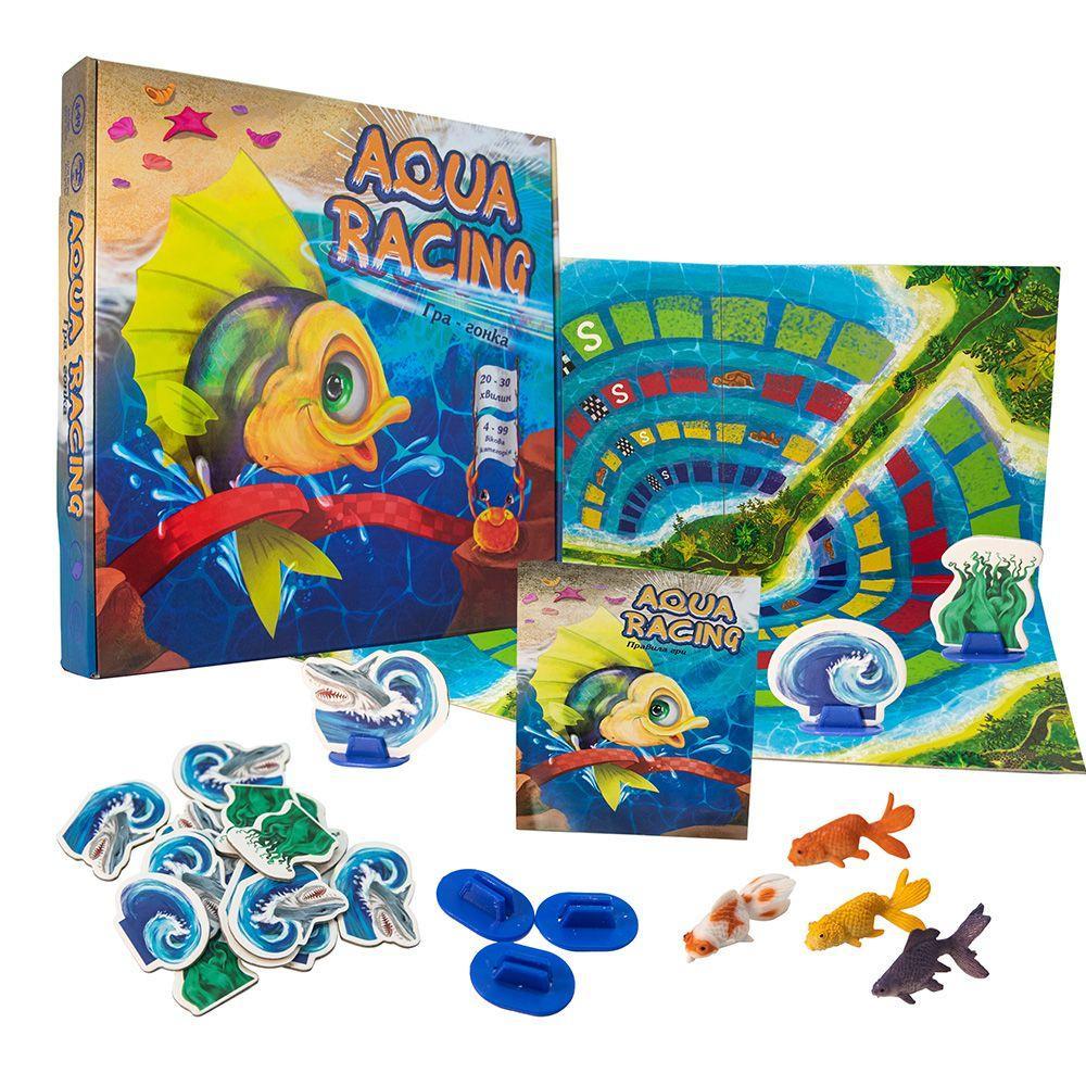 "Настільна гра ""Aqua racing"", укр 30416"