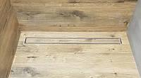 Трап под плитку, для душа, 60 см, сухой сифон, 50 диаметр, поворотный шарнир, сетка улавливающая волосы