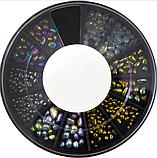 Фігурки метеликів різного кольору в карусельке, фото 3