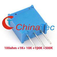 Потенциометр 3296 переменный резистор, фото 1