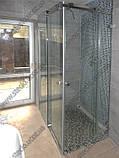 Душевые кабины из стекла с раздвижными дверьми, фото 4