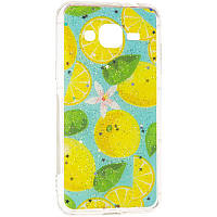 Summer Fruit Case for Samsung A405 (A40) Lemon, фото 1