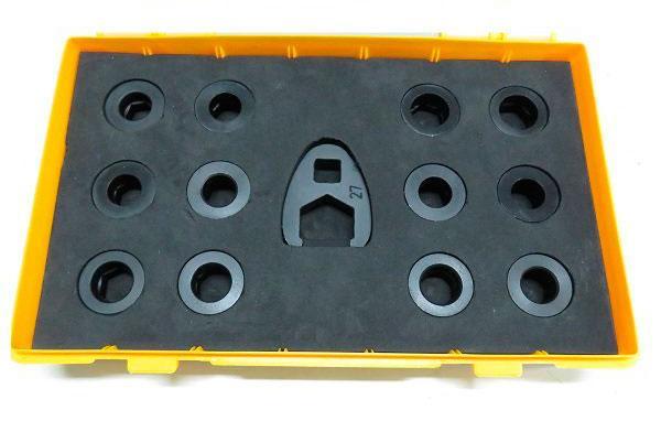 Комплект ключей под гайки распылителя форсунок CR — DL-CR50262