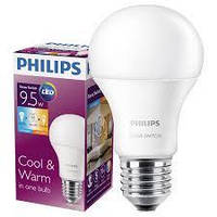 Светодиодная лампа  LEDScene Switch A60 9.5-60W E27 3000K/6500K  Philips
