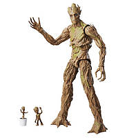 Hasbro Marvel Legends Groot Evolution, Фігурка Грут марвел леджендс, Стражі галактики