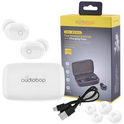 Беспроводные наушники OudioBop OD-BT011 (Белый)