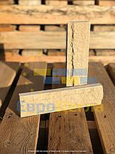 Плитка декоративная скала, слоновая кость, размер250Х20Х65мм