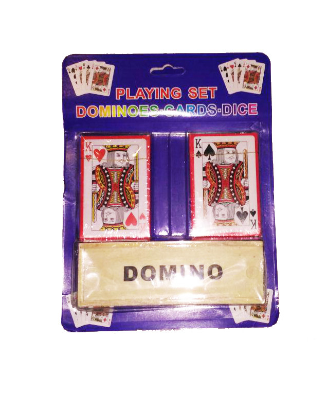 Домино + 2 колоды карт IGR46