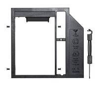 DVD-карман для HDD 2.5 дюйма, SATA - SATA, 9,5 мм, TRY Caddy Optibay с переключателем режимов, пластик новый