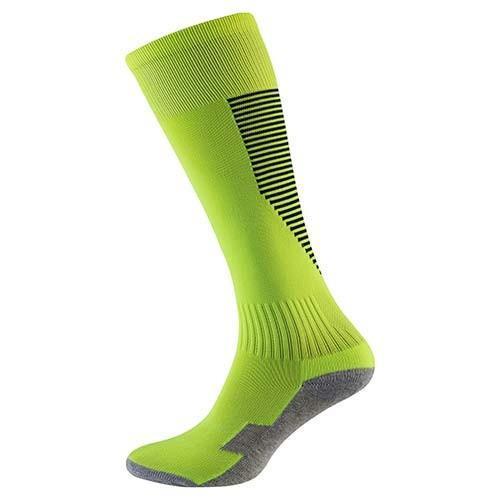 Гетры детские/подросток, терилен+эластан, махровый носок Салатовый