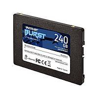 """Накопитель SSD 2.5"""" 240GB Patriot Burst (PBU240GS25SSDR) R555MBs W550MBs SATA III 7мм новый"""