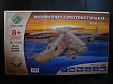3D Деревянный конструктор. Модель Вертолет КА-50 Черная акула, фото 2