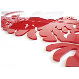 """Акриловая 3D наклейка """"Love"""" красная роза, фото 3"""